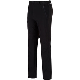 Regatta Xert II Stretch Zip of Trousers Men Black